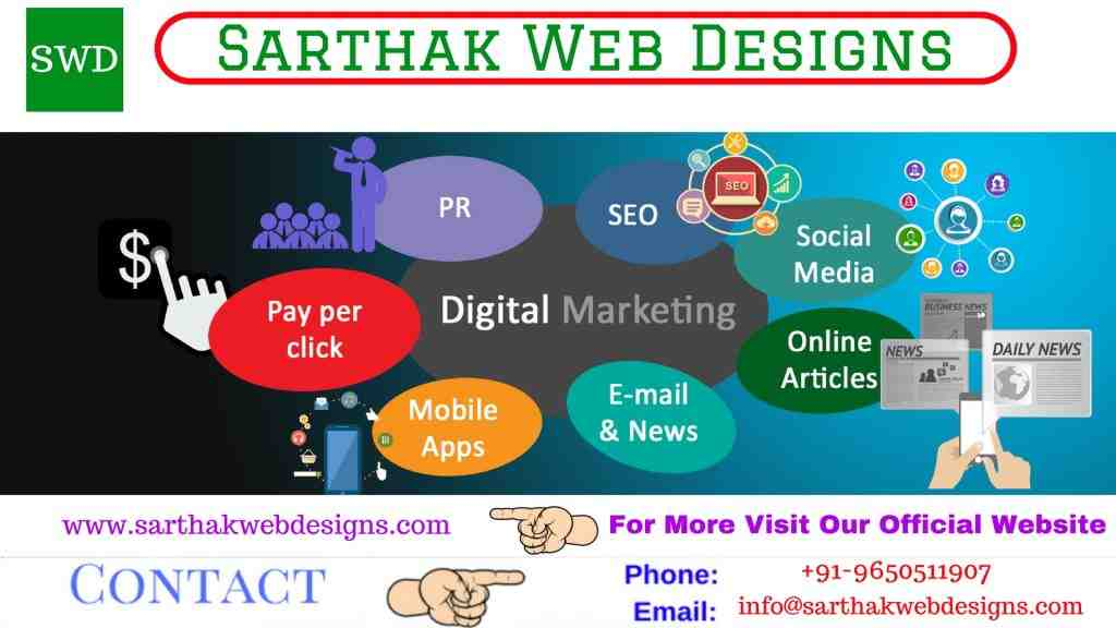 sarthak Creative Web Development Services in India Affordable Web Development Services in India PPC Internet Marketing Services
