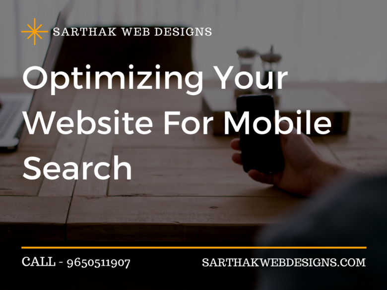 Optimizing your Website for Mobile Search